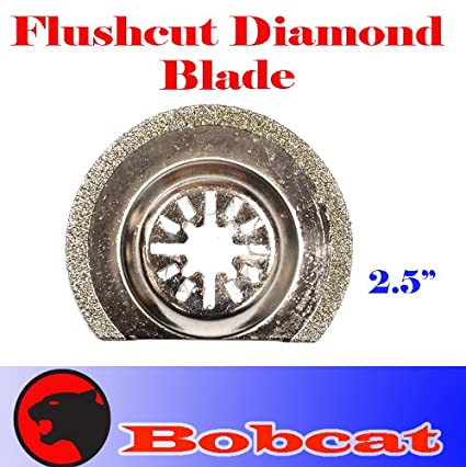 Diamond Semi Round Grout Tile Cut Oscillating Multi Tool Saw Blades for  Fein Multimaster Bosch Multi-x Craftsman Nextec Dremel Multi-max Ridgid  Dremel