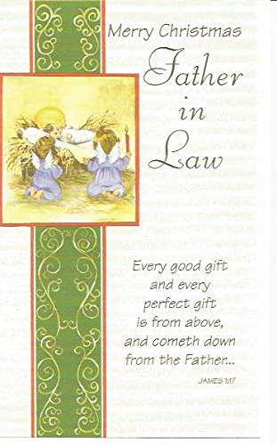 merry christmas father in law every good gift and every perfect gift is from above - What To Get Father In Law For Christmas