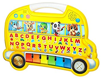 Buy GoAppuGo Alphabet Tablet Toy With Piano