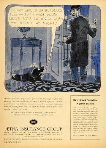 1954-ad-aetna-insurance-group-public-service-guard-dog-original-print-ad
