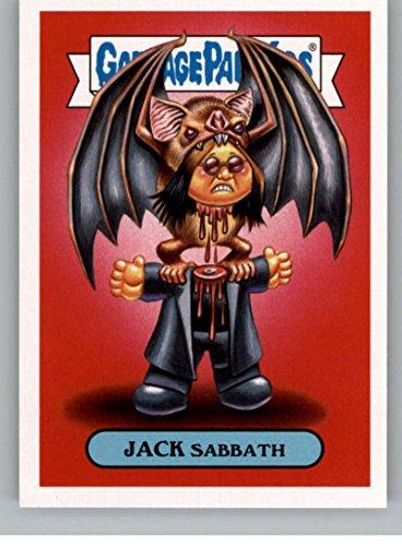 2017 Topps Garbage Pail Kids Series 2 Metal #1B JACK SABBATH ()