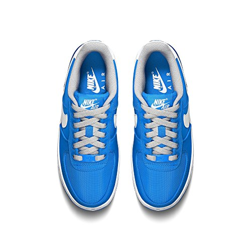 Nike Unisex Kids 314192_Air Force 1_2 Low-Top Blue/Grey/White affordable cheap online buy cheap in China buy cheap official site buy cheap perfect y5P2aK