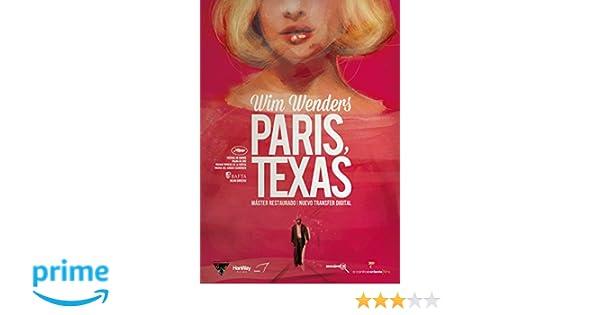 Paris, Texas [DVD]: Amazon.es: Harry Dean Stanton, Nastassja Kinski, Dean Stockwell, Hunter Carson, Wim Wenders: Cine y Series TV