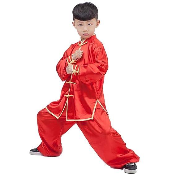 HYMY Traje De Kungfu De Kungfu Chino Tradicional para Niños ...