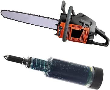 Manyo - Bomba de grasa manual, grasa de guía de cadena para desbrozadora, pistola de grasa para motosierra: Amazon.es: Bricolaje y herramientas