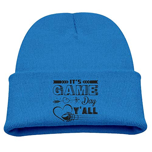 (It's Game Day Y'all 2 Knit Hats Beanies Caps Skull Cap Baby Boys )