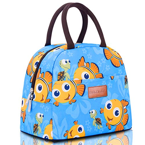 Fish Tote Bag - BALORAY Lunch Bag Tote Bag Lunch Bag Lunch Box Insulated Lunch Container G-197S Fish