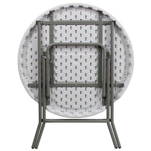 Amazon.com: 32-Inch Mesa Redonda granito de plástico plegable ...