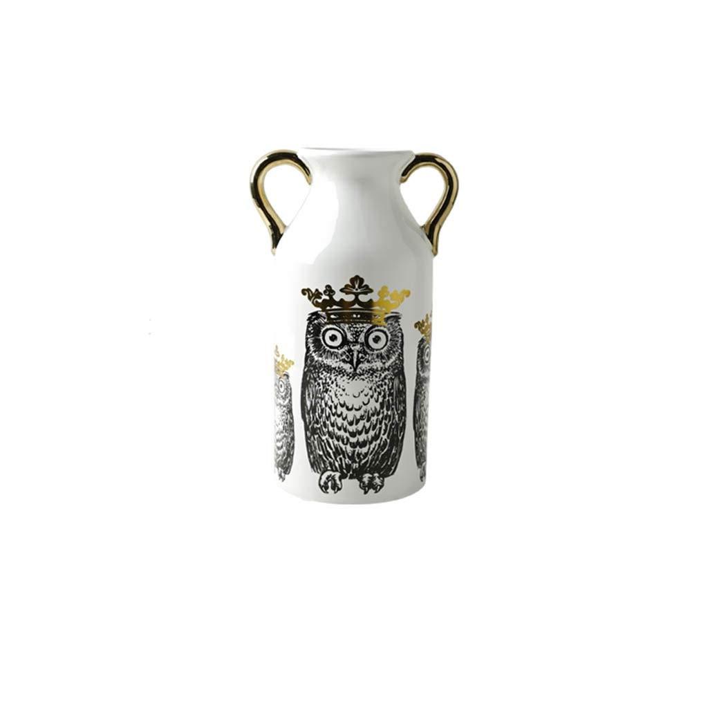 現代のセラミック花瓶北欧インクリエイティブ花瓶リビングルームの装飾 (Edition : B) B07STCJSML  B