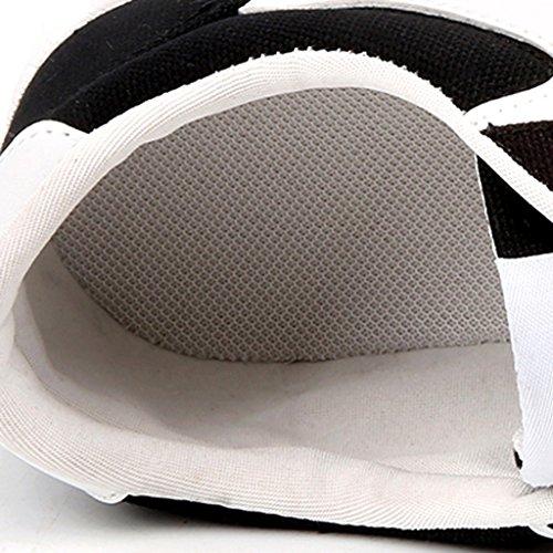 scarpe Espadrillas Size selvaggio tendenza Scarpe Scarpe nuove estate tela stile Black casual coreano Color uomo basse 40 Black scarpe stile da di PPqaAw4r