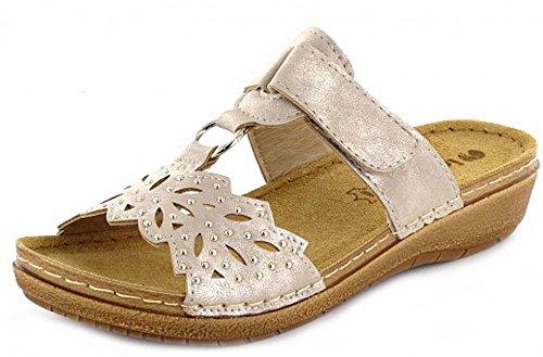 Q-Schuh1004678 - Zapatos con tacón Mujer dorado