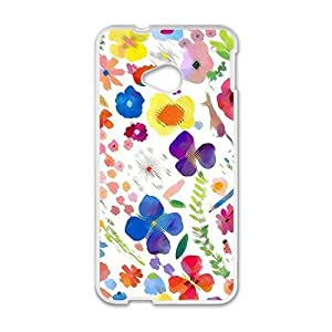 Creative Flower Cell Phone Case For HTC M7