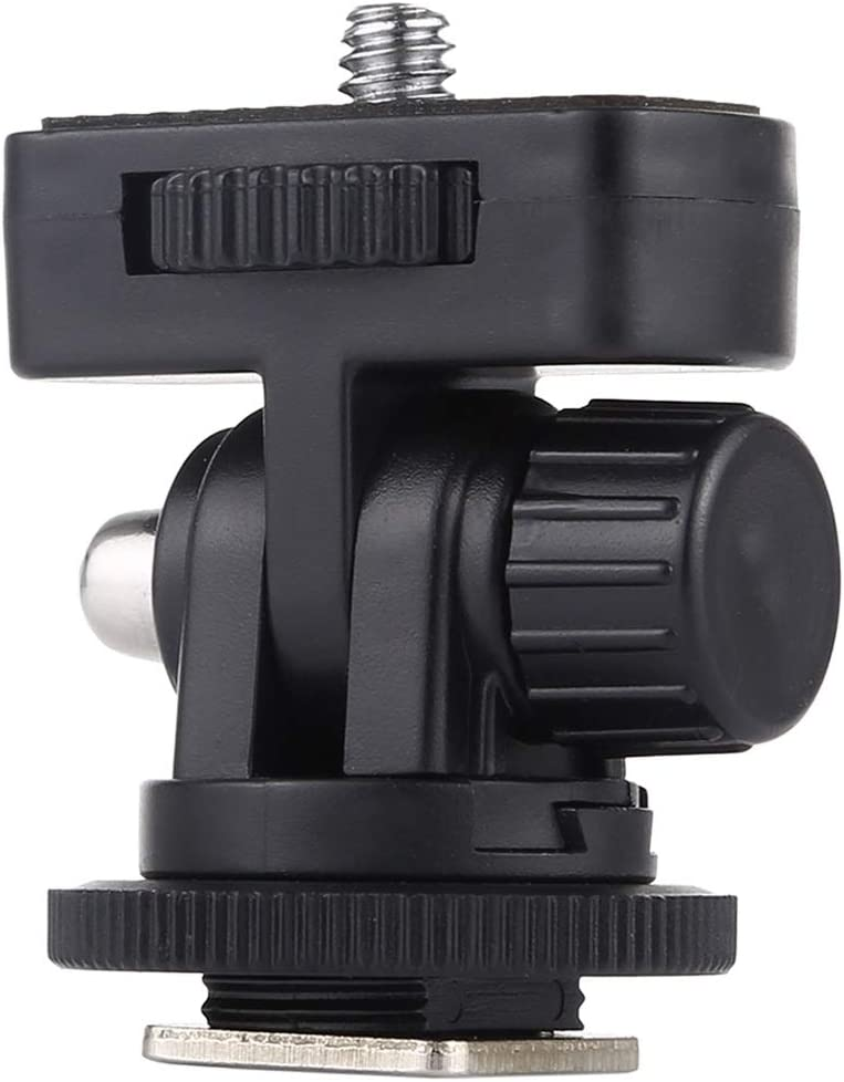 1//4 Inch Screw Thread Cold Shoe Tripod Mount Adapter Durable