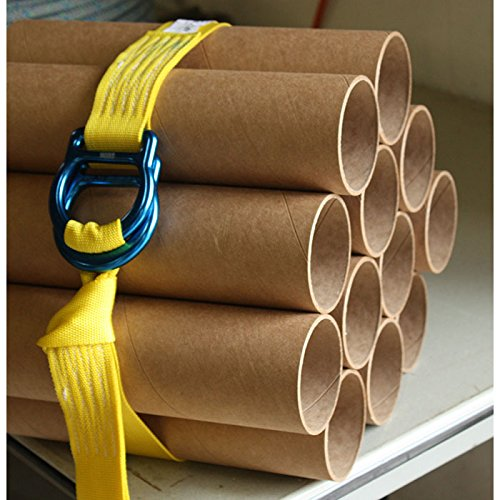 """Rock N Rescue RNR UTILITY DOUBLE """"D-RING"""" CINCH TIE DOWN STRAPS (4) by Rock N Rescue (Image #4)"""