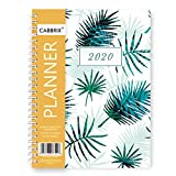 2020 Planner, Weekly Monthly Planner, 12 Monthly Tabs, 5.8 x 8.3 Inches