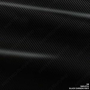 "3M 1080 CF12 BLACK CARBON FIBER 12""x12"" Vinyl Flex Wrap"