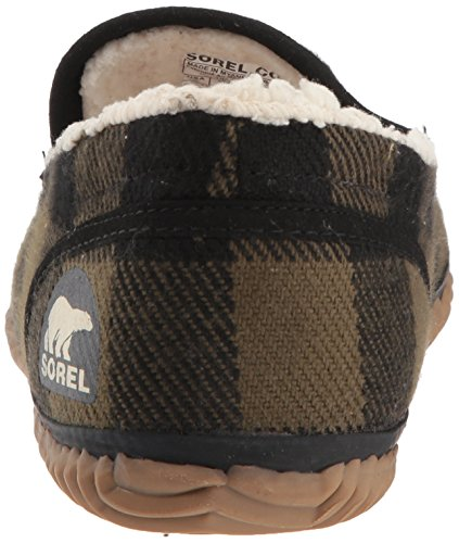 Moc Sorel Dude Men's Black Slipper Y44TBqxw