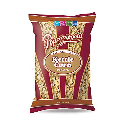 Popcornopolis Gourmet Popcorn Snack Bag (pack of 20) (Kettle Corn 1.5oz)