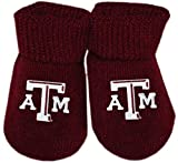 Creative Knitwear Texas A&M Aggies Newborn Baby Bootie Sock