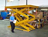Beacon-BDSL-Series-High-Scissor-Lift-Table-Travel-90-Cap-Lbs-4000-Edge-Load-Static-2000-Edge-Load-Rolling-1340-Platform-Standard-48-x-72-Platform-Maximum-60-x-96-Base-48-x-72-Lowered-Height-inches-14-