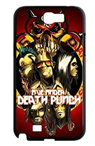 Five Finger Death Punch Poster Band Members Premium Back Case for Samsung Galaxy Note 2 Note II N7100 with Fashion Style