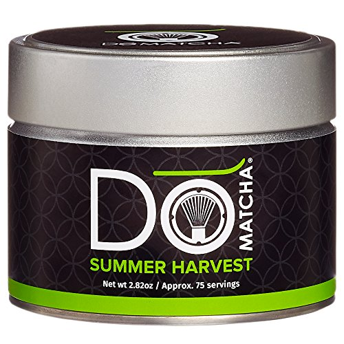 DoMatcha Summer Harvest Matcha Powder, Authentic Japanese Green Tea Rich with Antioxidants and L-Theanine, Gluten Free and Kosher, 75 Servings (2.82 oz) - Springtime Japan
