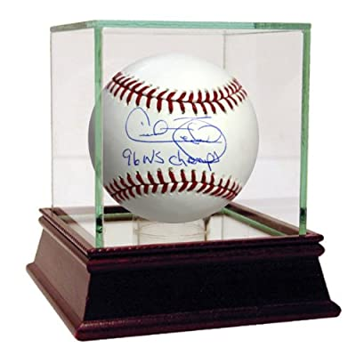 Steiner Sports MLB New York Yankees Cecil Fielder Baseball with 96 WS Champs Inscribed