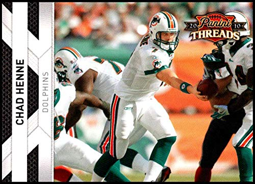 2010 Panini Threads #76 Chad Henne NM-MT Miami Dolphins Official NFL Football Card