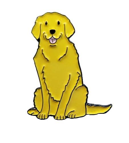 Amazon.com: Oscuro Spark pegatinas Pin de perro dorado ...