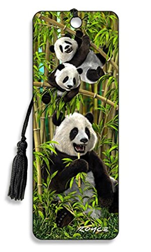 Artgame - Panda - 3D Bookmark (Bookmark Measures)