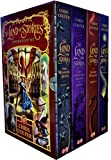 img - for Land of Stories Chirs Colfer Collection 4 Books Box Set (Book 1-4) (Wishing Spell, Grim Warning, Enchantress Returns) book / textbook / text book