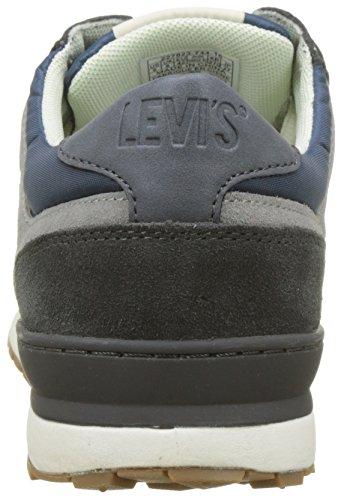 Turquoise NY Levi's Baskets 0 Turquoise Runner Homme Dark 2 xp8wxdz