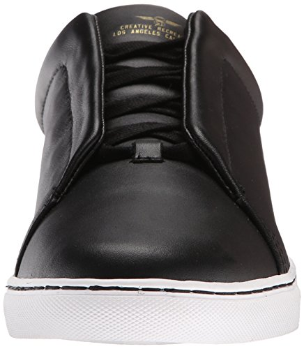 Creative Recreatie Heren Turino Slip-on Sneaker Zwart Fullgrain
