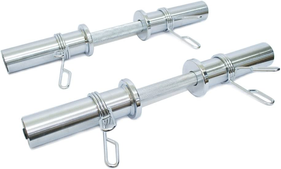 Olympic Spring Collar Barbell Clamps 2 Piece Same Day Ship Cap