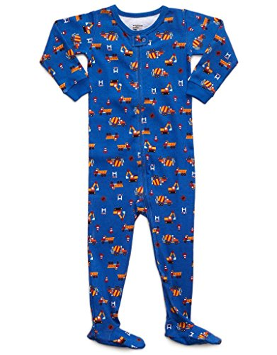 Frogmouth Truck Footed Pajama 18-24 Months