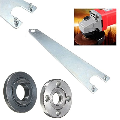 Hitommy 5/8-11 Thread Arbor Lock Nut Wrench for Electric Drill Variable Angle Grinder Polisher
