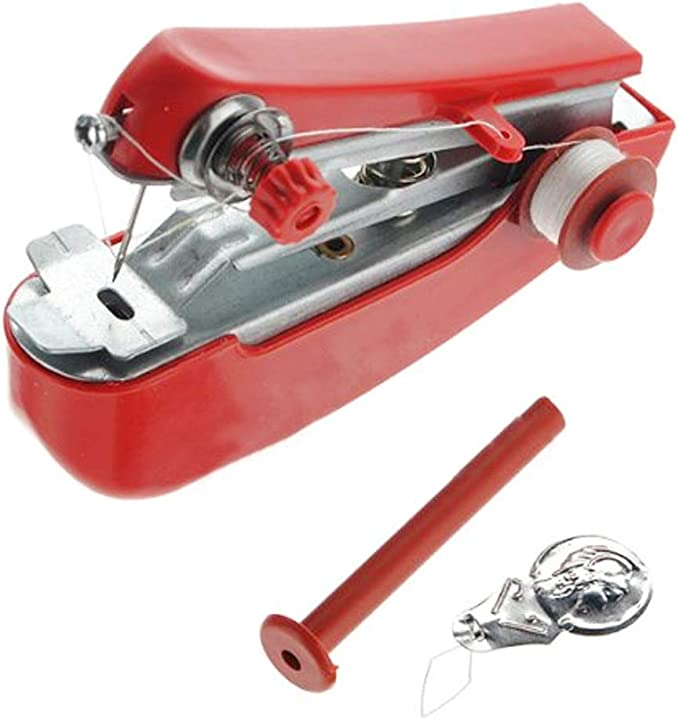 Nicedeal Mini máquina de coser portátil máquina de coser a mano ...