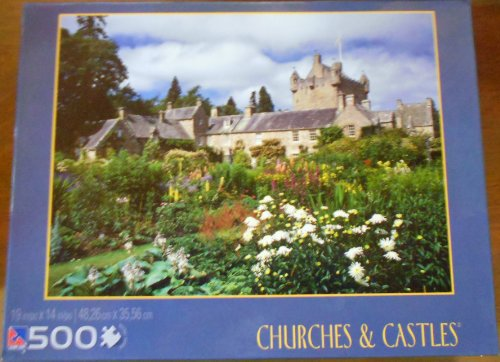 Cawdor Castle Gardens 500 Piece Puzzle - Churches & Castles Cawdor Castle