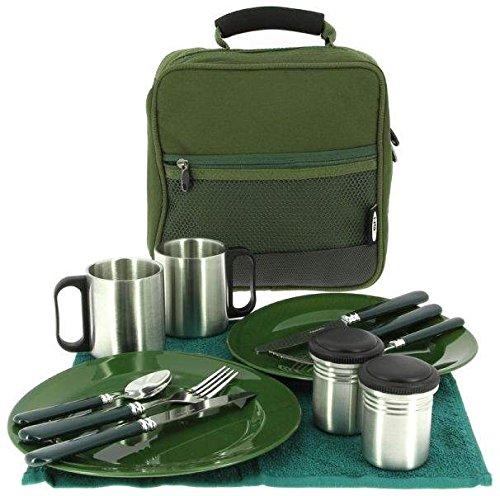 NGT Unisex's Deluxe Cutlery Set, Green, One Size Barrett Sports FLA-CUTLERY-109