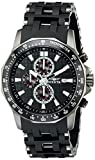 invicta white dial men - Invicta Men's 1933 Sea Spider Chronograph Black Dial Black Polyurethane Watch