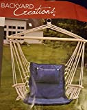 Backyard Creations Hammock Chair with Wooden Arms