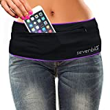 SevenBlu HIP – Fashion Money Belt/Extra Pocket/Running Belt – World's Best Stylish Travel Wallet or Mini Purse – with ZIPper – Fits iPhone 6 Plus – Your Smartphone Pocket (Purple XL) Review