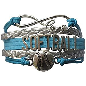 Softball Bracelet- Girls Softball Jewelry - Perfect Softball Player, Team and Coaches Gifts