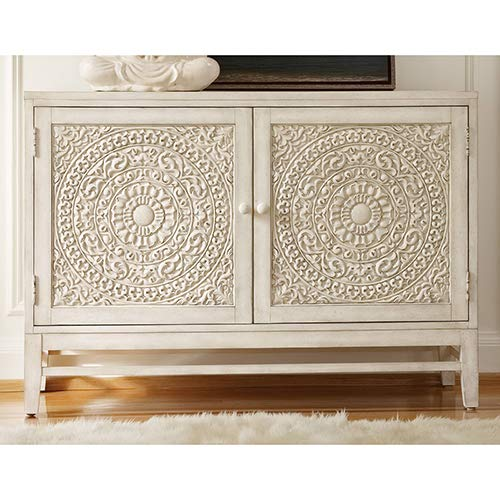 Hooker Furniture Melange Lacy Carved Front Matisette Accent Chest by Hooker Furniture