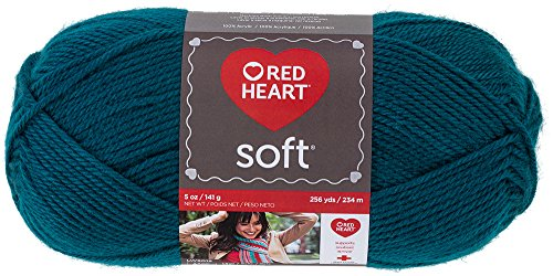 Red Heart  Soft Yarn, Teal (Teal Heart)