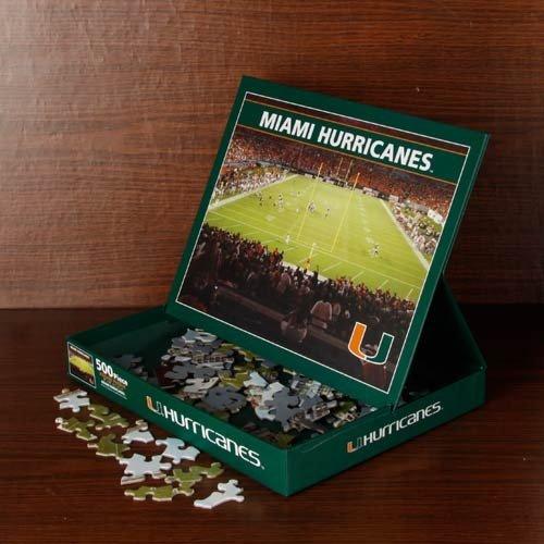 (Miami Hurricanes Stadium Puzzle )