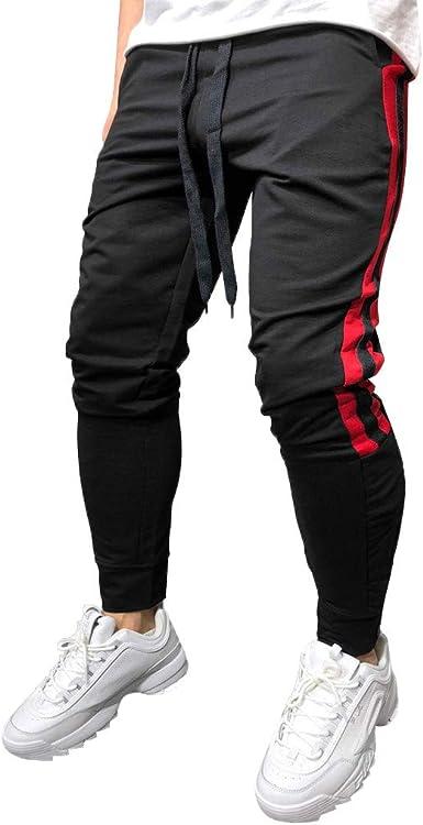 Pantalones Cortos para Correr Hombre Hombre Moda Cargo Joggers ...