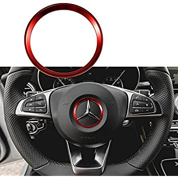 1797 Compatible Seat Adjust Buttons Caps for Mercedes Benz Accessories Parts Bling Covers Decals Stickers Interior Decorations W205 W213 X253 C E GLC Class AMG Women Men Crystal Gold 6 Pack