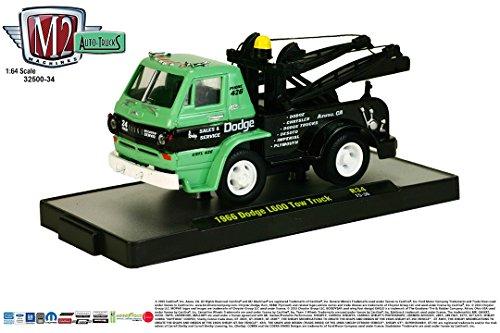 (1966 DODGE L600 TOW TRUCK * Auto-Trucks Series Release 34 * M2 Machines 2015 Castline Premium Edition 1:64 Scale Die-Cast Vehicle ( R34 15-36 ))