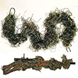 Rifle Rag Ghillie 3D Camouflage Camo Cover Bow Wrap Yowie Sniper Airsoft Paintball Hunting Camping